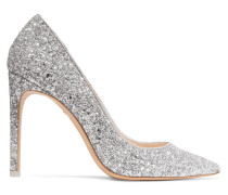 Rio Pumps aus Leder mit Glitter-finish
