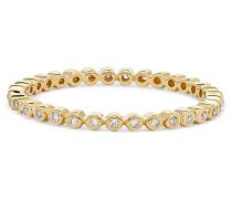 Ring aus 14 Karat  mit Diamanten