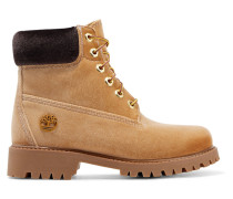 + Timberland Ankle Boots aus Samt