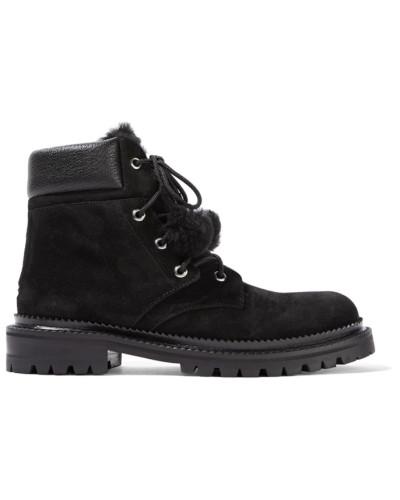 Jimmy Choo Damen Elba Ankle Boots aus Veloursleder Authentisch Footlocker Bilder Amazon Verkauf Online vXam4FBlY