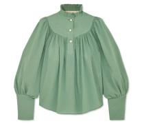 Kasia Geraffte Bluse aus Baumwolle