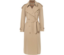 The Westminster Long Trenchcoat aus Baumwoll-gabardine