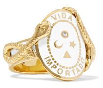 Wholeness Ring aus 18 Karat