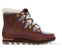 Sneakchic Alpine Ankle Boots aus Nubukleder