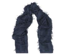 Schal aus einer Woll-seidenmischung