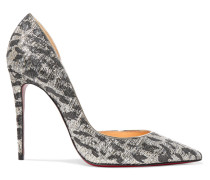 Iriza 100 Pumps Aus Metallic-jacquard