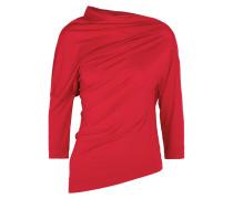 Liberate Asymmetrisches, Drapiertes Oberteil aus Stretch-jersey