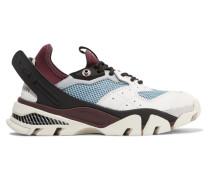 Carla Sneakers aus Leder, Gummi und Mesh