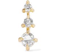 Snow Queen Ohrring aus  mit Diamanten