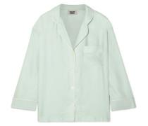 Marina Pyjama-hemd aus Seiden-charmeuse