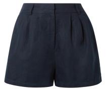 Shorts aus einer Mischung aus Lyocell und Leinen