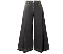 Rockstud Verkürzte Jeans