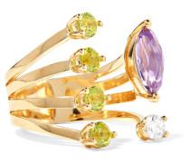 Ring aus 18 Karat  mit Mehreren Steinen
