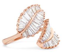 Palm Leaf Ring aus 18 Karat  mit Diamanten