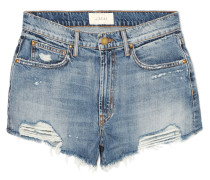 The Destroy Jeansshorts in Distressed-optik