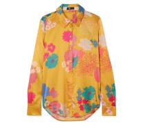 Maxwell Hemd aus Charmeuse aus einer Seidenmischung