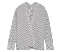 Sabine Gestreiftes Hemd aus Baumwollpopeline