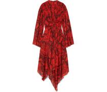 Nelli Asymmetrisches Kleid aus Chiffon