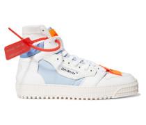 Off-court High-top-sneakers aus Canvas, Leder und Veloursleder