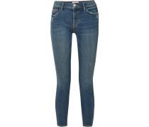 Stiletto Halbhohe Skinny Jeans