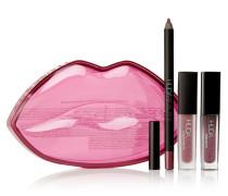 Demi Matte Lip Kit – Trophy Wife & Sheikha – Set aus Lipliner und Flüssigen Lippenstiften