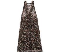 Bedrucktes Minikleid aus Georgette
