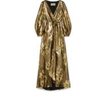 Eda Kleid aus Jacquard aus einer Seiden-lurex®-mischung