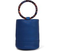 Bonsai 20 Beuteltasche aus Strukturiertem Leder