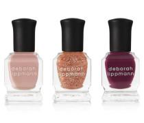 Color On Glass Nail Polish Set — 3 X 8 Ml — Nagellack-set