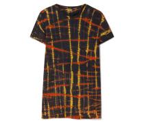 T-shirt aus Baumwoll-jersey mit Batikmuster