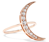 Luna Ring aus 18 Karat  mit Diamanten