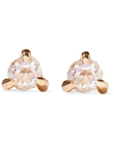 Sleeping Beauty Ohrringe aus  mit Diamanten