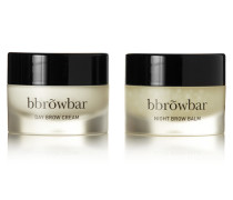 Brow Conditioning Duo – Day Cream And Night Balm – Set aus Zwei Augenbrauencremes