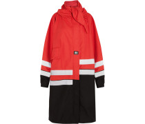 Oversized-parka aus Canvas