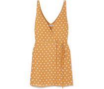 Anchorace Mini-wickelkleid aus Georgette
