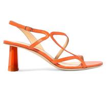 Brigette Slingback-sandalen aus Leder