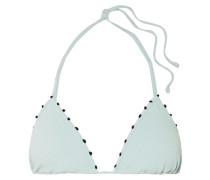 St Tropez Besticktes Triangel-bikini-oberteil