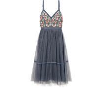 Whimsical Kleid aus Tüll mit Stickerei