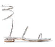 Cleo Sandalen aus Metallic-leder