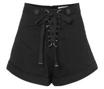 Shorts aus Twill aus Stretch-baumwolle