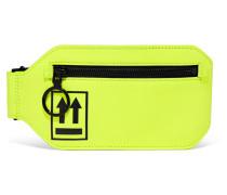 Gürteltasche aus Neonfarbenem Leder