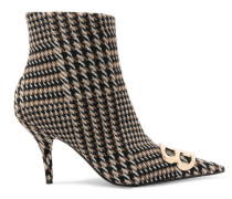 Ankle Boots aus Tweed