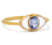 Lucky Eye Ring aus 22 Karat