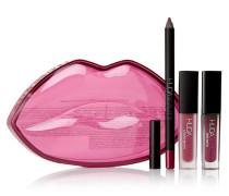 Demi Matte Lip Kit – Famous & Bawse – Set aus Lipliner und Flüssigen Lippenstiften