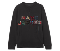 Sweatshirt aus Baumwoll-jersey