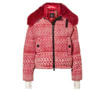 + 3 Grenoble Daunenjacke aus Tweed aus einer Wollmischung