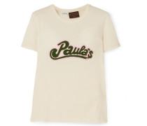 + Paula's Ibiza T-shirt aus Jersey aus einer Baumwoll-seidenmischung
