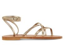 Zenobie Sandalen aus Leder
