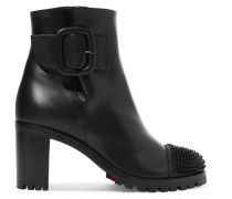 Olivia Snow 70 Ankle Boots aus Leder