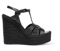 Tribute Espadrille-wedges aus Leder